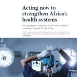 Research how to strengthen Africa's health systems.