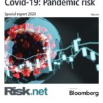 Bloomberg risk report on Covid-19.