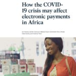 Research how Covid-19 may affect electronic or ePayments in Africa.